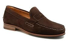 Men's Sebago Conrad Penny Rounded toe Loafers in Brown
