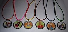 20 FRESH BEAT BAND PARTY SUPPLY  BOTTLE CAP FAVORS NECKLACE WITH COLOR  CORDS