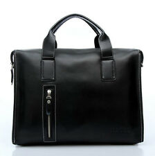 2016 Mens briefcase Genuine leather Business Shoulder/messenger laptop bags New