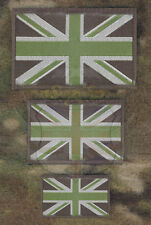 NEW WOVEN UNION JACK SUBDUED MTP FLAG PATCH-ARMY SURPLUS/AIRSOFT,VELCRO BRAND
