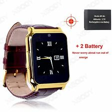 W90 Bluetooth Smart Wrist Watch Camera SIM Phone Mate For Android IOS Waterproof