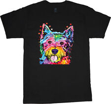 Westie t-shirt west highland terrier shirt dog breed men's tee shirt