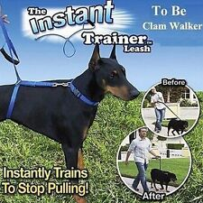 Dog Control Harness Collar Walking Training Anti Pull Dog Trainer Leash Leader