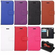 BOYA PU Magnetic Flip Cover Stand Wallet Leather Case For iPhone SE S7 edge HTC