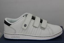 Children's K Swiss Lozan 3-strap sneakers White/Navy/Blue 51514127 81514127 New!