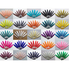 Wholesale 50pcs beautiful goose feather 4-6inches/10-15cm More color