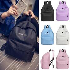 WOMEN LADIES BACKPACK RUCKSACK TRAVEL CANVAS BAGS YOUNG LADY GIRLS SCHOOL BAGS