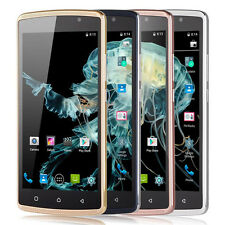 "Unlocked Touch Screen 5"" Android Mobile Cell Phone 3G Smartphone Dual SIM GPS FM"