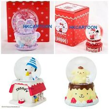 SANRIO HELLO KITTY/ MELODY/  LITTLE TWIN STARS CHRISTMAS SNOWGLOBE DOME (S) NIB
