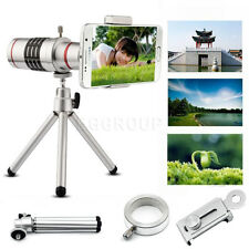 18X Universal Zoom Telephoto Lens Mobile Phone Optical Zoom Telescope Camera