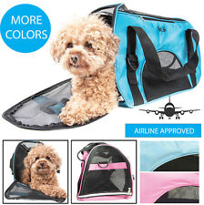 Airline Approved Altitude Force Sporty Zippered Fashion Pet Dog Carrier bag