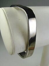 Mexico 925 Sterling Silver Hinged Square Bracelet   #2914