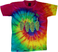 tie dye t-shirt funny weed pot cannabis 420 shirt tie dyed tee shirt