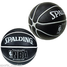 Spalding NBA Marquee Black Indoor / Outdoor Basketball - Free Express Shipping