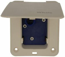Whale Water Master Inlet Socket for Micro Switched Water Systems - White ES1000