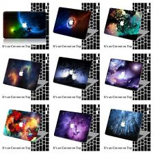 2in1 Galaxy Dreamy Printed Matte Hard Case Cover For Macbook Pro Air 11 12 13 15