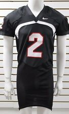 Men's Nike #2 Black/White/Red Football Game Jersey Brand New