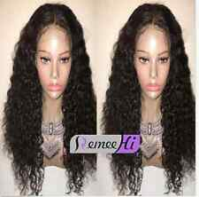 """Halo! Soft Curly 100% Indian Remy Human Hair 12""""-24"""" Front Wigs Full Lace Wig"""