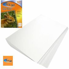 PRO-JET A4 PHOTO PAPER 20 SHEETS 185GSM GLOSS FINISH + MULTI BUY DISCOUNTS