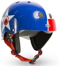 Liquid Force FOOSHEE Wakeboard Helmet, Medium or X Large, Red Blue. 28681