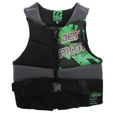JetPilot DILLON GUN Wakeboard Waterski Competition Buoyancy Vest, S to XL. 51409
