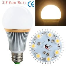 Good E27 Energy Saving LED Bulb Light Lamp 9W 15W 21W 27W Cool/Warm White