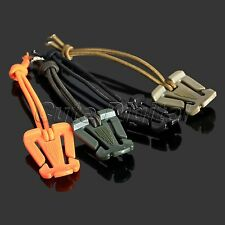 10X Tactical Military EDC MOLLE Webbing Backpack Buckle Clip Elastic Hang Strap