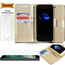 COMBO Slim Clutch Wallet Flip cover card Slit purse Case for Galaxy iPhone LG