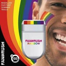 New Easy Face & Body Rainbow Flag Gay Pride Paint Painting Fanbrush Make Up12