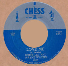 ROCKABILLY REPRO: JIMMY LEE & WAYNE WALKER-Love Me/RUSSELL BRIDGES-Alright CHESS