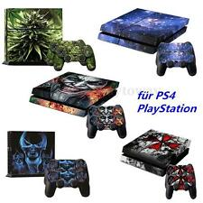 Decal Cover Skin Sticker For PS4 PlayStation 4 Console + 2 Controller Vinyl HOT