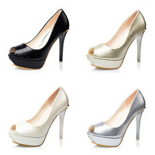 Platform Peep-toe Pumps Fashion High Heels Stilettos Nightclub Sexy Women Shoes