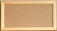 New NATURAL Pine  Wooden picture poster / photo frame with glass - various sizes