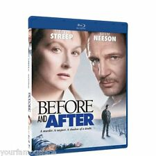 Before and After Blu-Ray (Region A/B/C) Meryl Streep, Liam Neeson