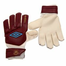 West Ham United FC Umbro Goalkeeper Gloves Football Soccer EPL Gk Goalie Glove