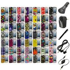 Design Hard Snap-On Rubberized Case Cover+Accessories for iPod Touch 5th Gen 5G