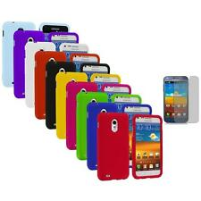 Hard Cover Case+Screen Protector for Samsung Sprint Galaxy S II S2 Epic Touch