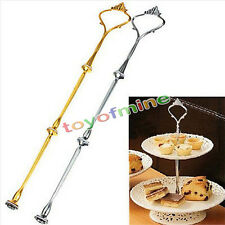 Hot Cake Plate Stand Handle Party Wedding Tea Fitting Hardware Rod 2/3 Tier