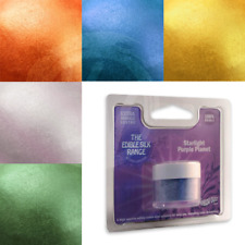 EDIBLE Lustre Dust Rainbow Dust Silk Starlight Range Cake Decorating Sugarcraft