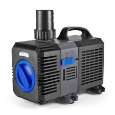 Pond Pump 800GPH Adjustable Submersible Inline Fountain Waterfall Koi Filter