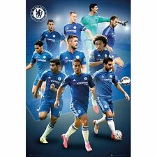 Chelsea FC Poster Players 25 Football Soccer EPL Wall Picture