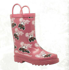 Lil' Pink CASE IH Rubber Boots Rain Tractor Mud Puddle Toddler /  Children Sizes