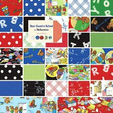 Moda Berenstain Bears ~Bear Country School~ Quilting Fabric 100% Cotton By Yard