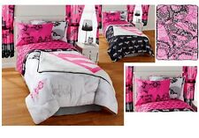 NEW KIDS GIRLS JUSTICE LEAGUE BEDDING BED IN A BAG / COMFORTER SET