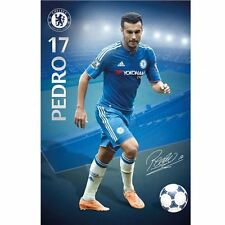 Chelsea FC Poster Pedro 47 Football Soccer EPL Wall Picture