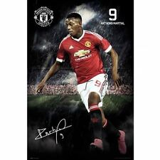 Manchester United FC Poster Martial 102 Football Soccer EPL Wall Picture