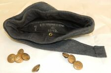 GENUINE WW2 RAF/ROYAL AIR FORCE FORAGE SIDE CAP and 8 RAF  BUTTONS