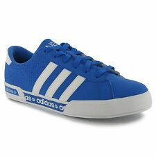 Adidas Neo Daily Mono Mens Shoes Trainers Sneakers Sports Footwear AFBlue/Wht