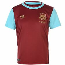Umbro West Ham United Home Jersey 2015 2016 Juniors Claret/Blue Football Soccer
