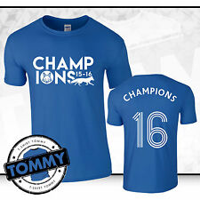 Leicester City Fan Champions T-Shirt, champions LCFC Foxes Limited Edition FH